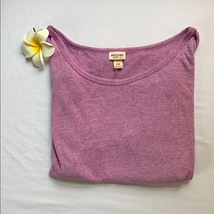 Purple Long-sleeve T-shirt